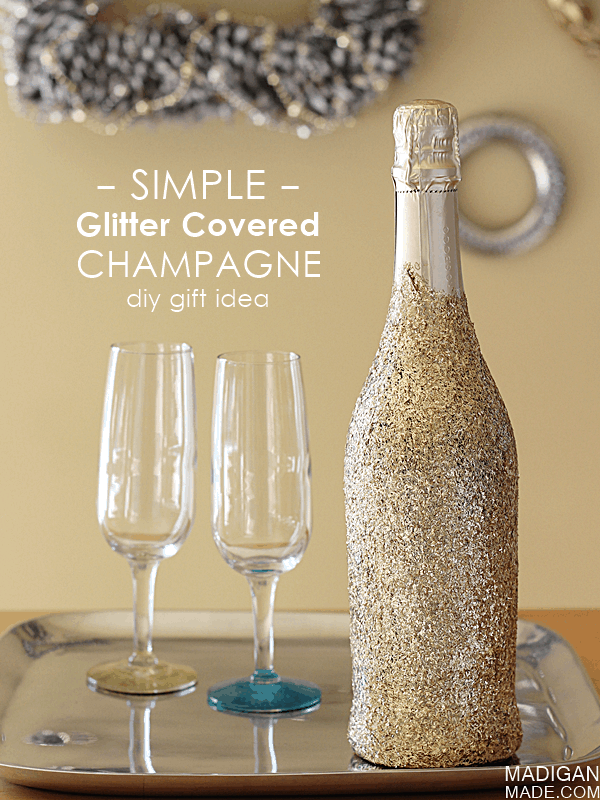 30+ Exceptionally Shiny DIY Glitter Project Ideas For The New Years Eve Party ! homesthetics decor (4)