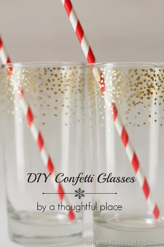 30+ Exceptionally Shiny DIY Glitter Project Ideas For The New Years Eve Party ! homesthetics decor (6)