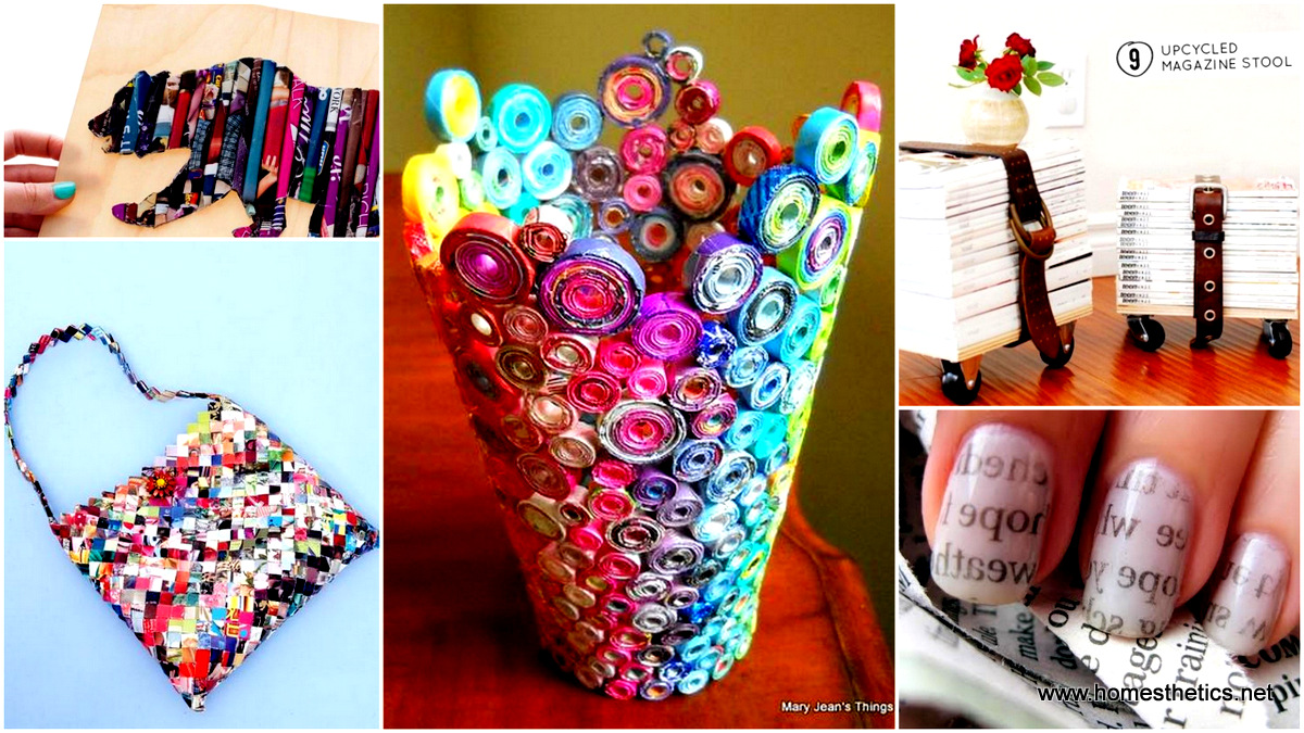 35 DIY Creative Things That Can Be Done With Your Old Magazines