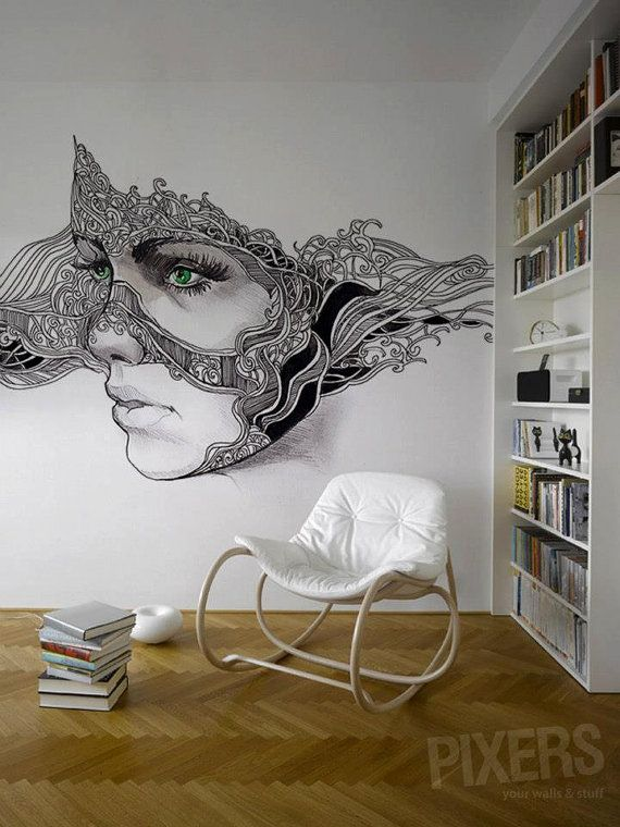 Bedroom Drawing: 40 Of The Most Incredible Wall Murals Designs You Have
