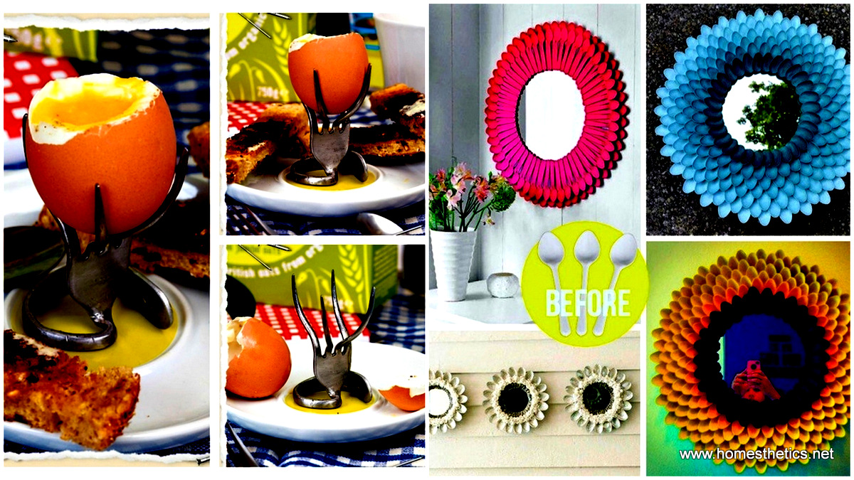 30 Quirky Methods To Give New Purpose To Old Utensils