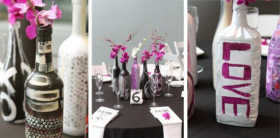 31 Beautiful Wine Bottles Centerpieces For Any Table-hometshetics (1)
