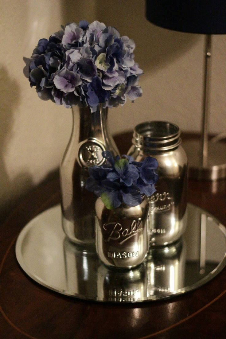 31 Beautiful Wine Bottles Centerpieces For Any Table-hometshetics (7)