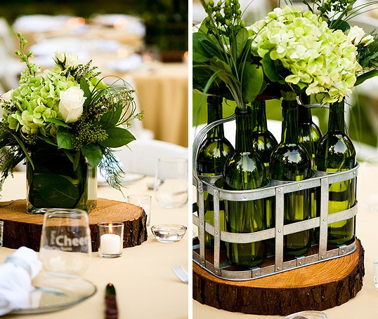 31 Beautiful Wine Bottles Centerpieces For Any Table-hometshetics (8)
