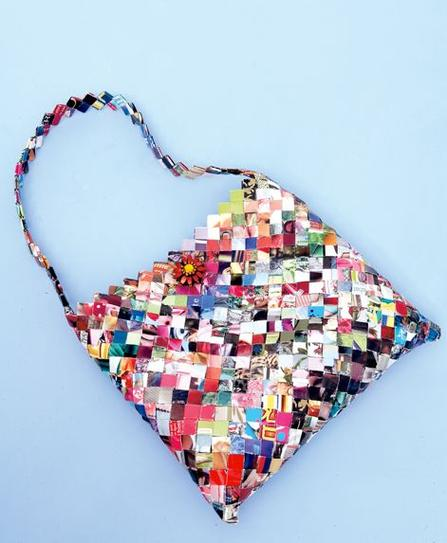 35 DIY Creative Things That Can Be Done With Your Old Magazines_homesthetics (17)