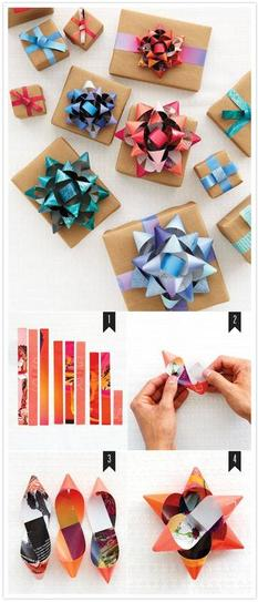 DIY old magazines projects