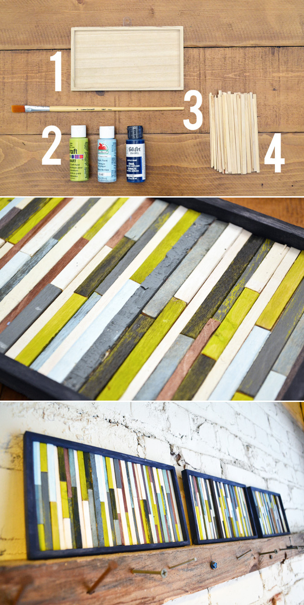 39 Simple and Spectacular DIY Wall Art Projects That Will Beautify Your Home homesthetics decor (15)