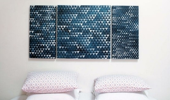 39 Simple and Spectacular DIY Wall Art Projects That Will Beautify Your Home homesthetics decor (30)