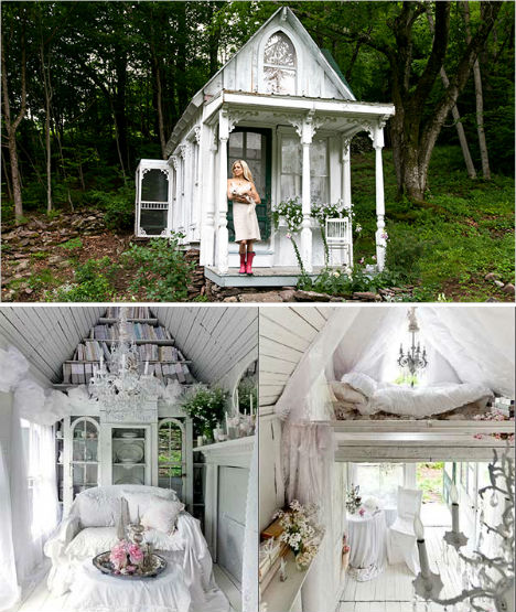 40 Storybook Small Cottages Stolen From Fairytales (23)
