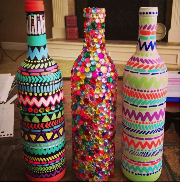 Decorate A Bottle Impressive 40 Diy Wine Bottle Projects And Ideas You Should Definitely Try 2018