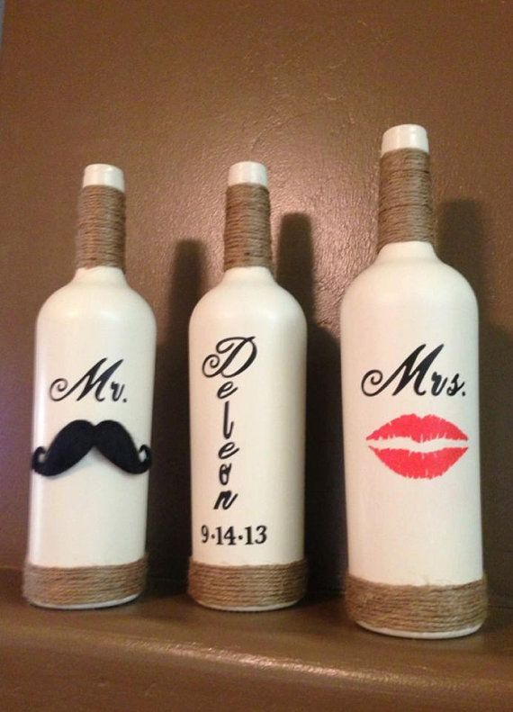 Decorative Wine Bottles Ideas Prepossessing 40 Diy Wine Bottle Projects And Ideas You Should Definitely Try Design Inspiration
