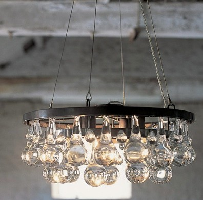 Beautiful vintage electic lamps composed out of lightbulbs homesthetics (16)