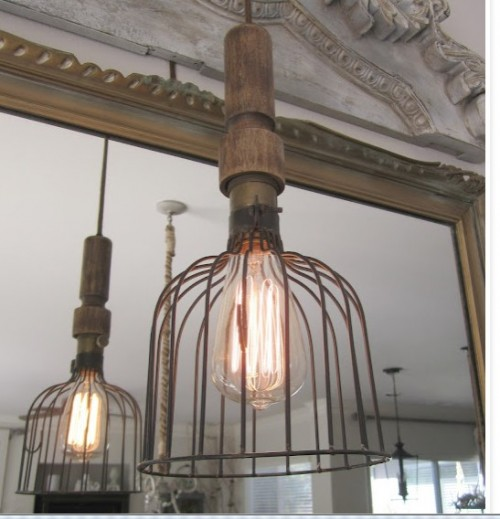 Beautiful vintage electic lamps composed out of lightbulbs homesthetics (7)