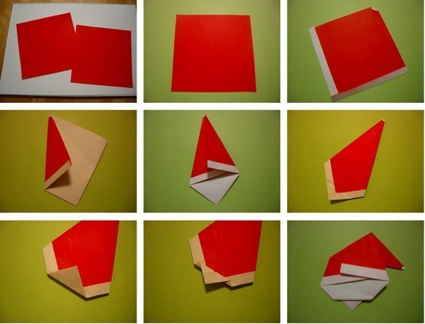 Create Extremely Cheerful DIY Origami Santa Claus For Your Decor or as Gifts 0 (3)