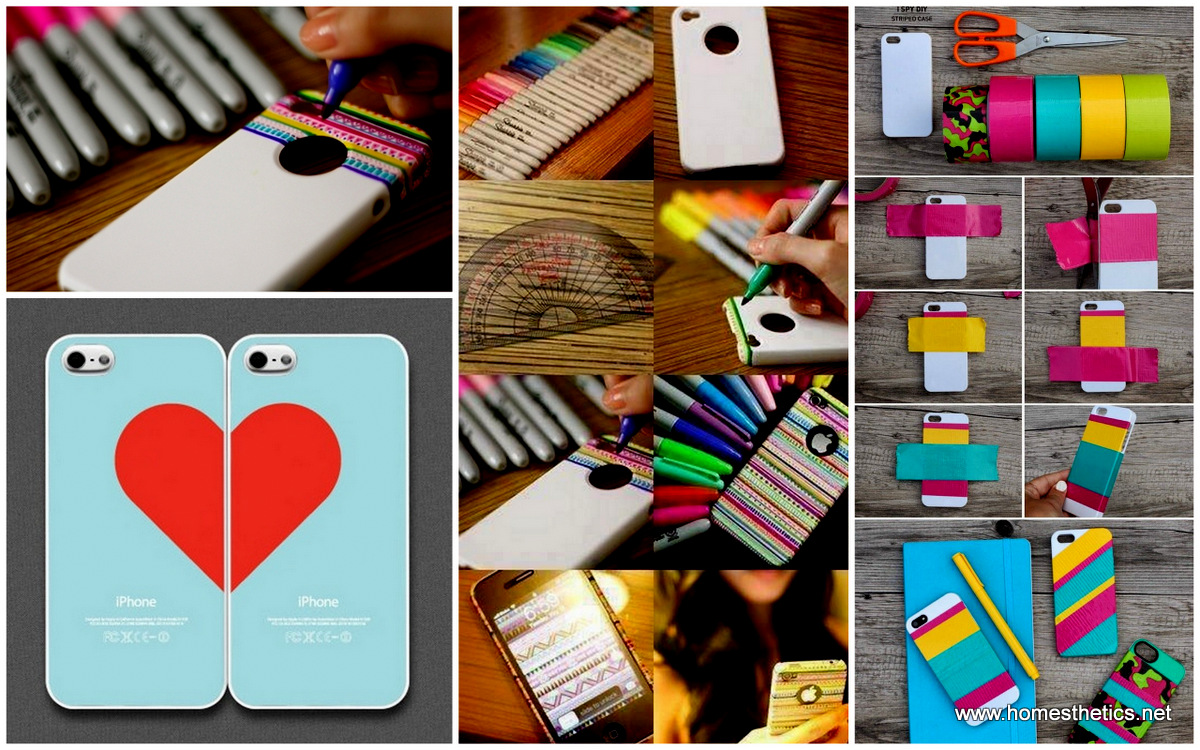 25 magnificent and spectacular diy iphone case for How to make phone cases at home