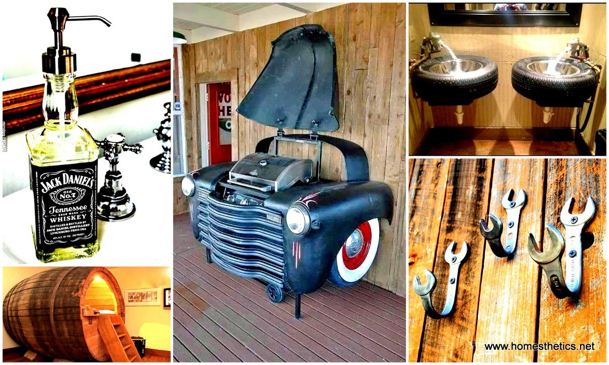 Diy mancave decor 19 creative and inspiring diy decor and for Diy car interior decor