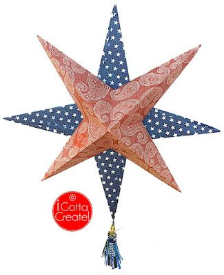 DIY Paper Art Projects - Learn How to Make 3D Paper Stars [Video Tutorial Included] homesthetics (1)