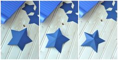 DIY Paper Art Projects - Learn How to Make 3D Paper Stars [Video Tutorial Included] homesthetics (11)
