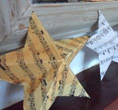 DIY Paper Art Projects - Learn How to Make 3D Paper Stars [Video Tutorial Included] homesthetics (5)