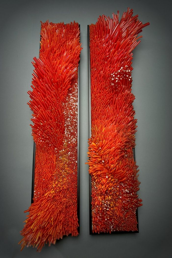 Exceptional Glassblowing Sculptural by Shayna Leib homesthetics