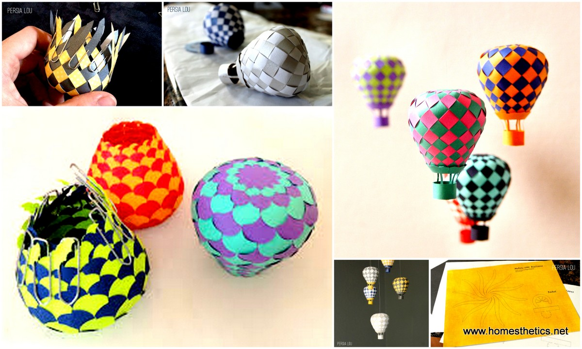 Hot Air Balloon Art Project