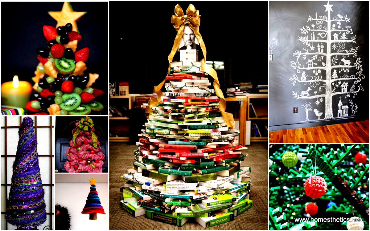 40 Creatived And Inspiring Ideas For a DIY Non-Traditional Christmas ...