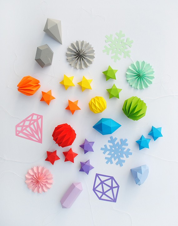 Rainbow DIY Paper Project Torn From The Sky - DIY Fold Lucky Paper Stars homesthetics (24)
