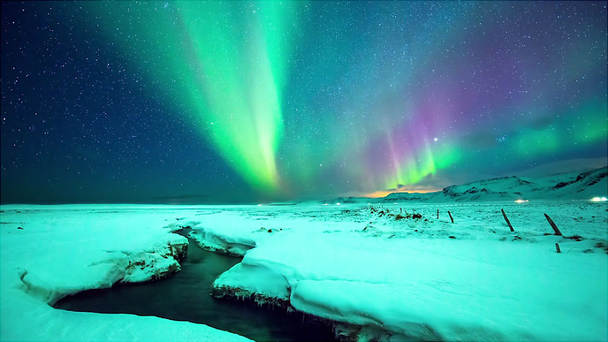 Spectacular and Mesmerizing Aurora Borealis Over Two Lands- Greenland And Iceland homesthetics (5)
