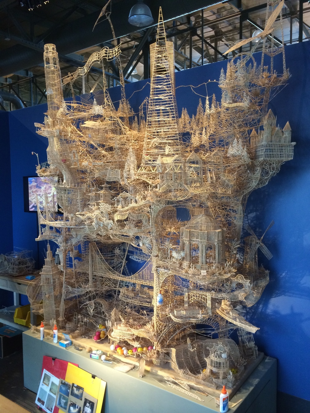 The Art Of Scott Weaver One Man 100 000 Toothpicks 35 Years