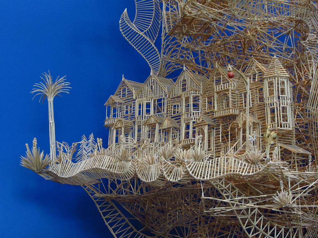 The Art of Scott Weaver-One Man, 100,000 Toothpicks, 35 Years-homesthetics (6)