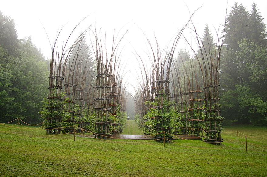 Whimsical Fairy Tale Cathedral Composed Out Of Living Breathing Trees homesthetics (3)