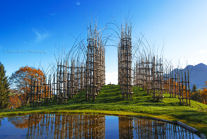 Whimsical Fairy Tale Cathedral Composed Out Of Living Breathing Trees homesthetics (8)