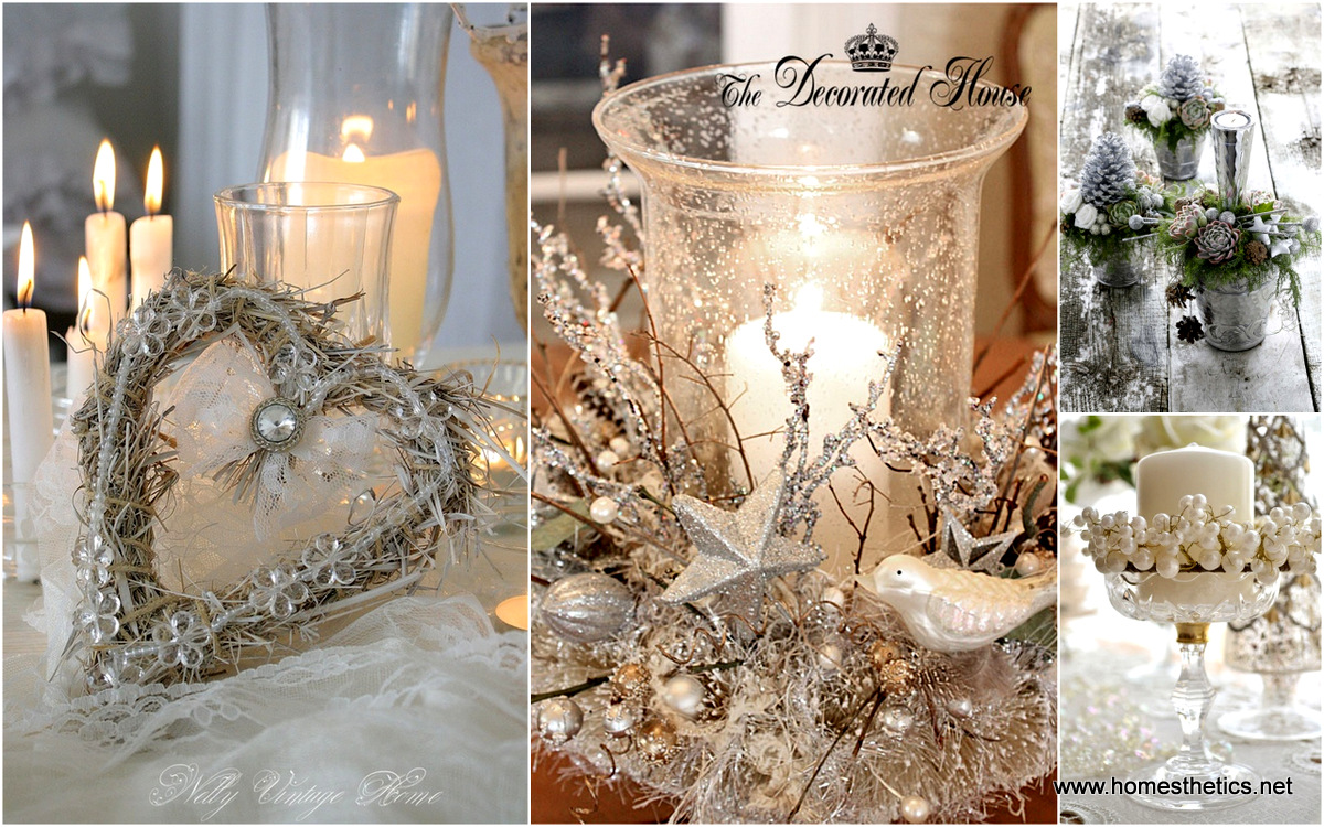 Very White Vintage Christmas Ideas For A Dreamlike Holiday YK91