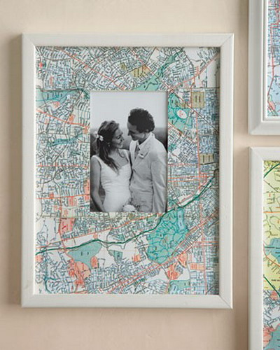 25 DIY Maps Decorations For Your Home That Will Make You Travel Some More