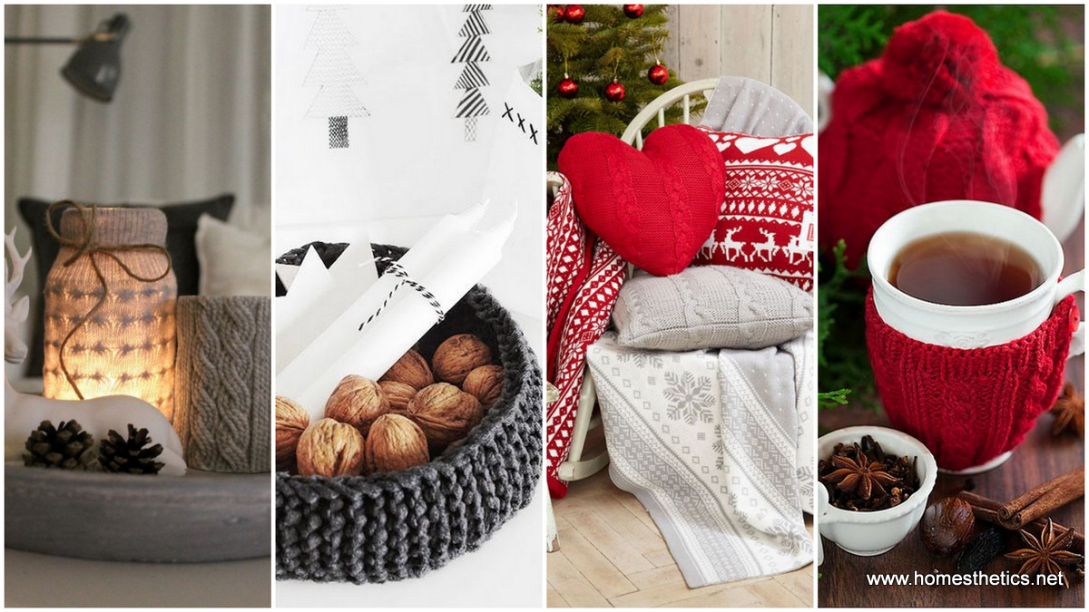 Knitted Christmas Decorations That Will Inspire You - Homesthetics ...