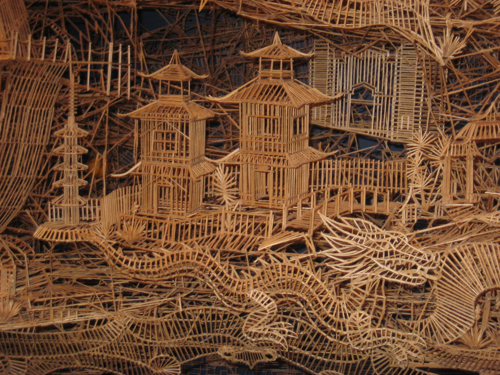 The Art of Scott Weaver-One Man, 100,000 Toothpicks, 35 Years