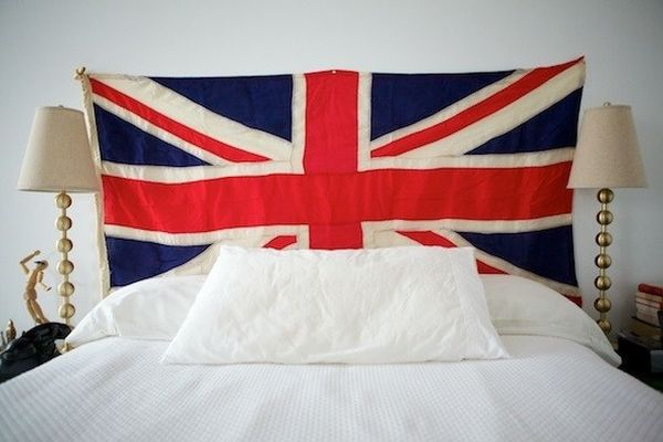 British Flag Headboard