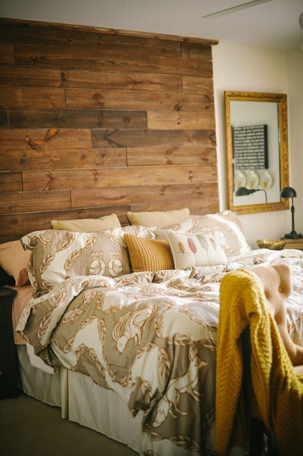 DIY RECLAIMED WOOD/PALLET HEADBOARDS