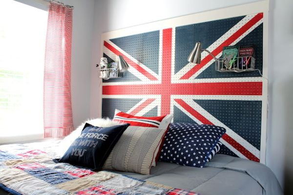 British FLAG HEADBOARDS