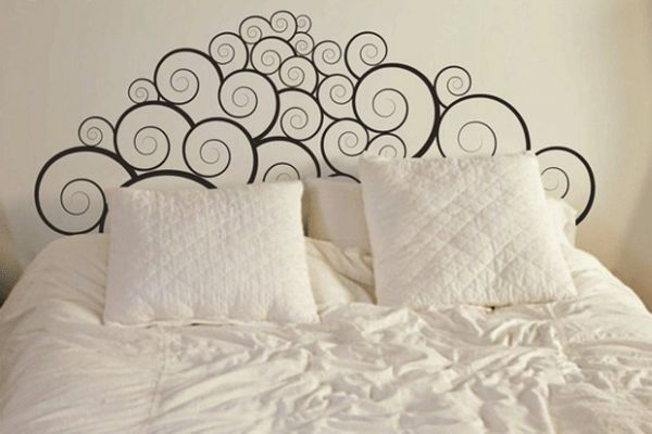 100 Inexpensive and Insanely Smart DIY Headboard Ideas for Your Bedroom Design homesthetics (54)