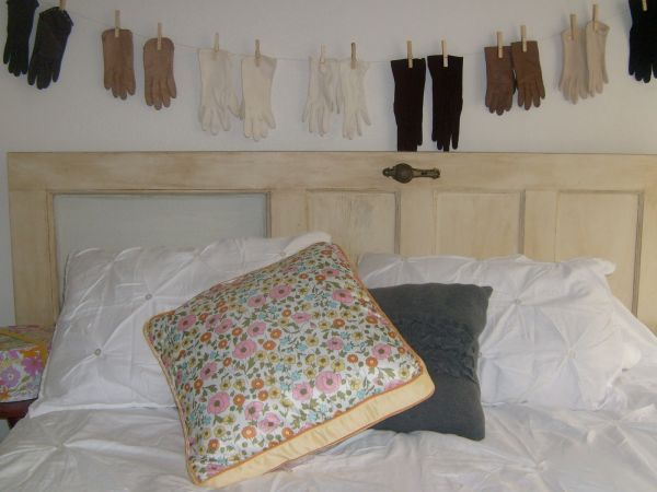 OLD DOORS TURNED INTO HEADBOARDS