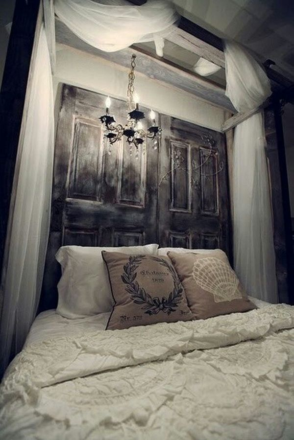100 Inexpensive and Insanely Smart DIY Headboard Ideas for Your Bedroom Design homesthetics (73) & 100 Inexpensive and Insanely Smart DIY Headboard Ideas for Your ...