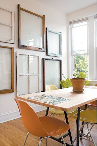 100+ Simple and Spectacular Ideas on How to Recycle Old Windows homesthetics decor (1)