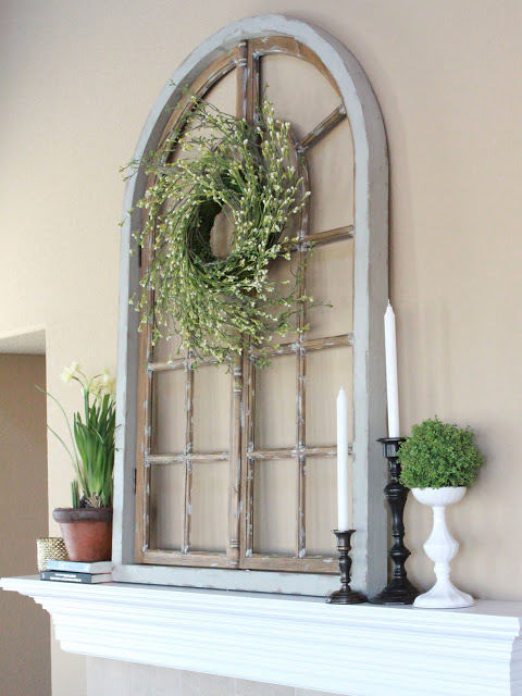 100+ Simple and Spectacular Ideas on How to Recycle Old Windows homesthetics decor (11)