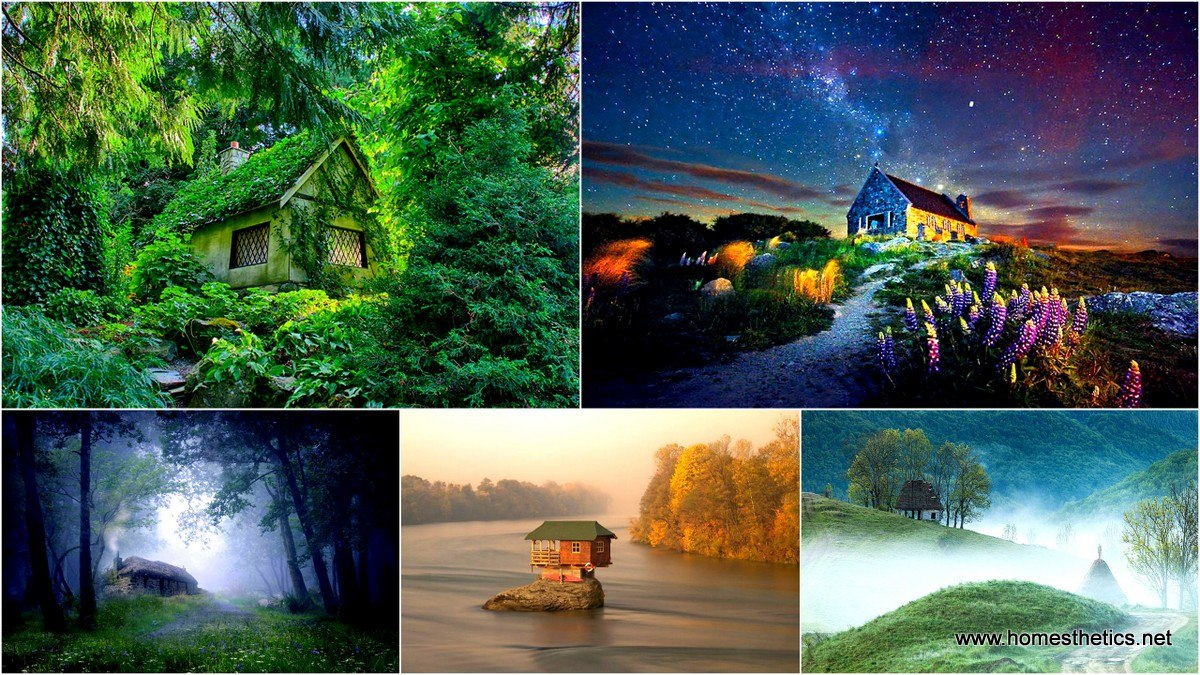 20 Lonely Little Houses For The Solitary Soul