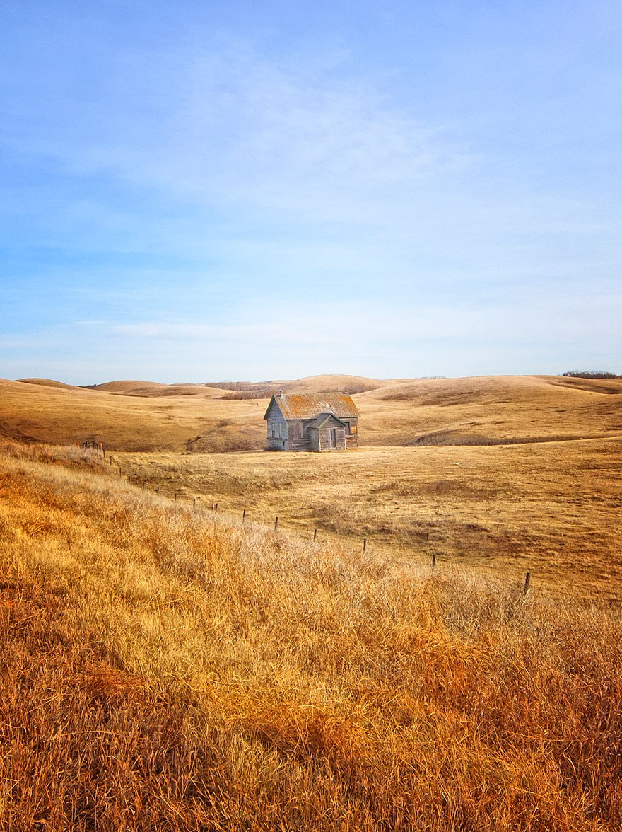 20 Perfect Lonely Little Houses Blending In Nature For The