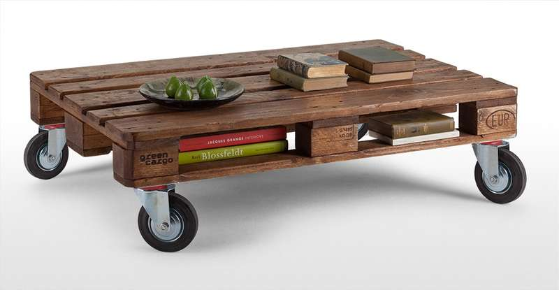 The Pallet Coffee Table Is Timeless and Insanely Easy to Make