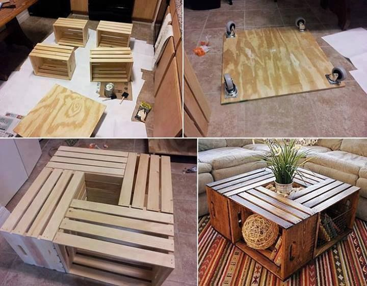 27 Unique Desks and Coffee Tables Materialized in Highly Creative DIY Projects homesthetics decor (24)