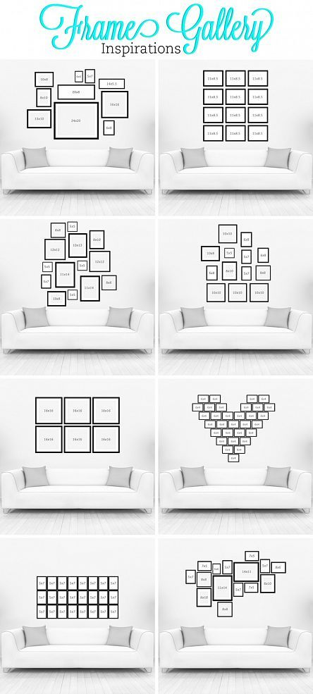 Picture Frame Wall Art Ideas meg wall art 30 Creative Photo Display Wall Ideas Homestheticsnet 35