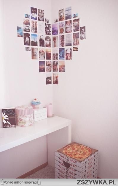 45 creative diy photo display wall art ideas for Poster jugendzimmer